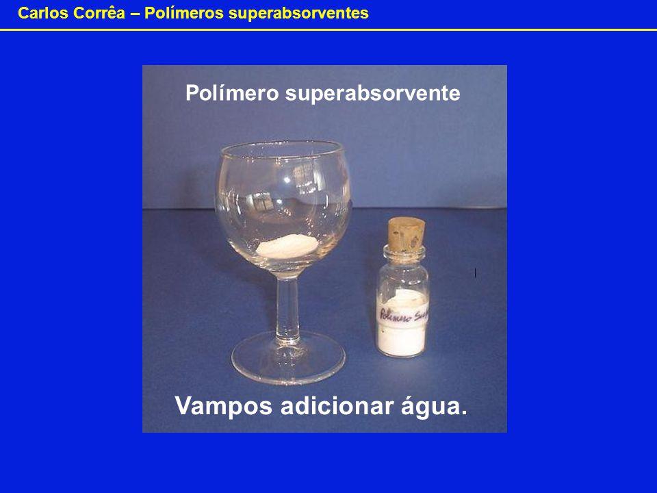 Polímero superabsorvente