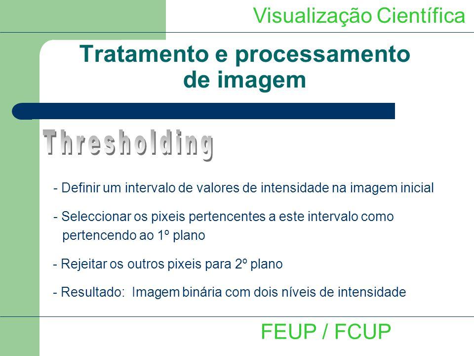 Tratamento e processamento de imagem
