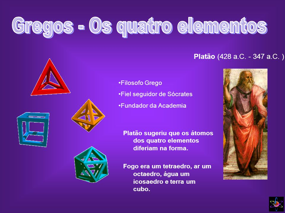 Gregos - Os quatro elementos