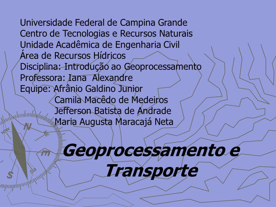Geoprocessamento e Transporte