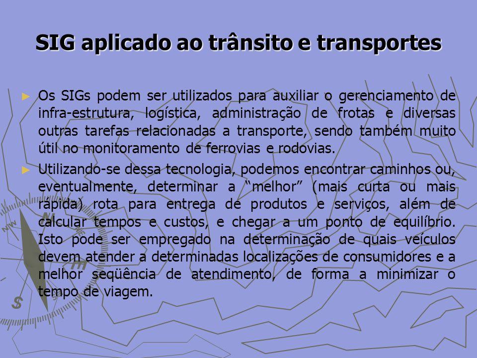 SIG aplicado ao trânsito e transportes