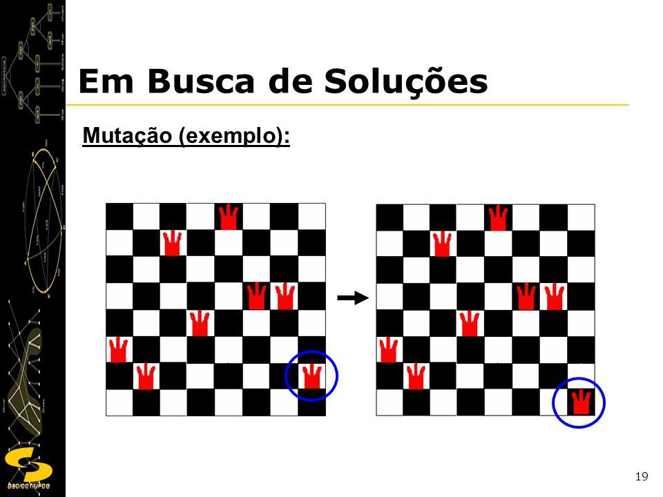Em Busca de Soluções Mutação (exemplo):