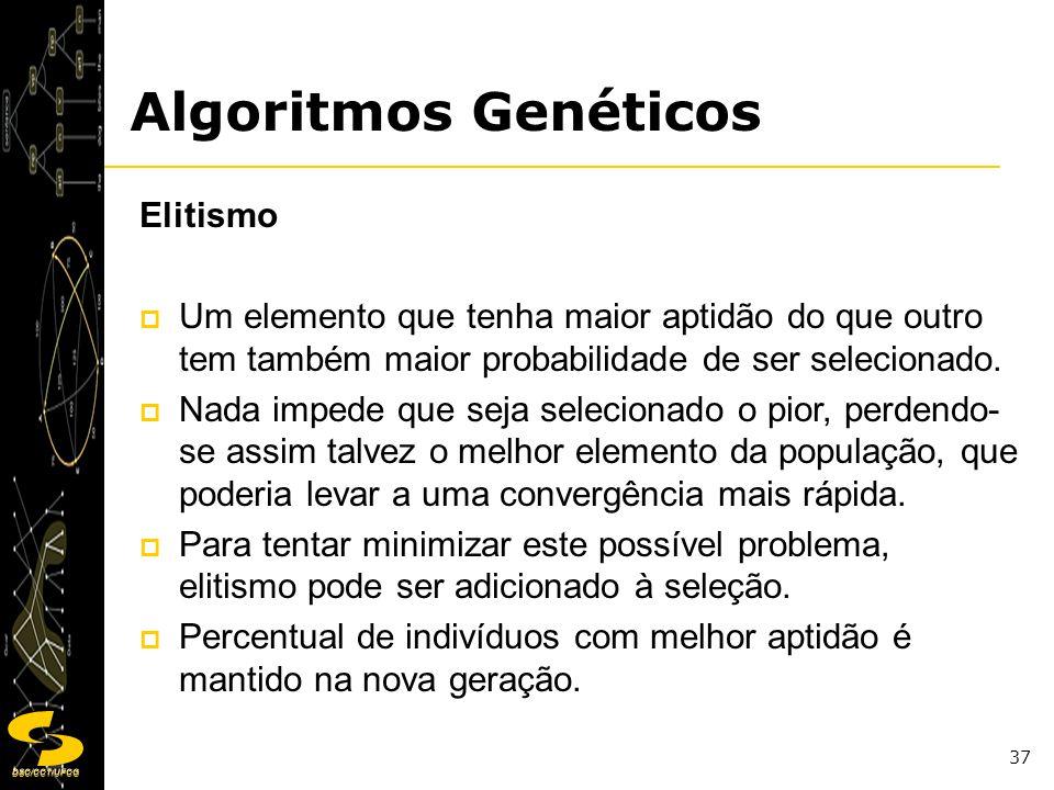 Algoritmos Genéticos Elitismo