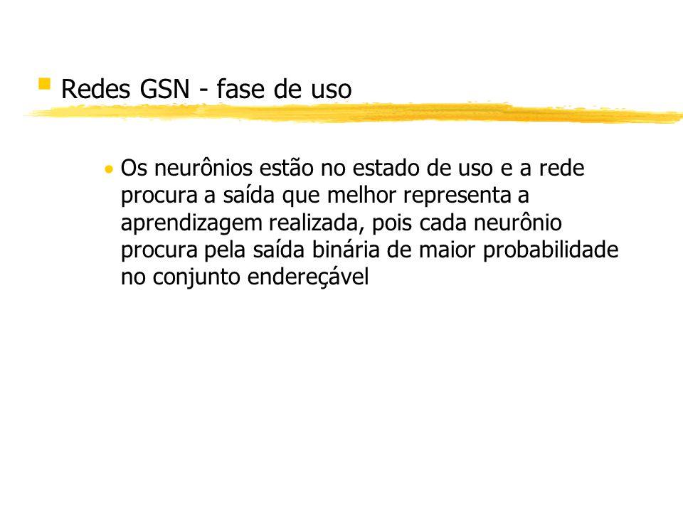 Redes GSN - fase de uso