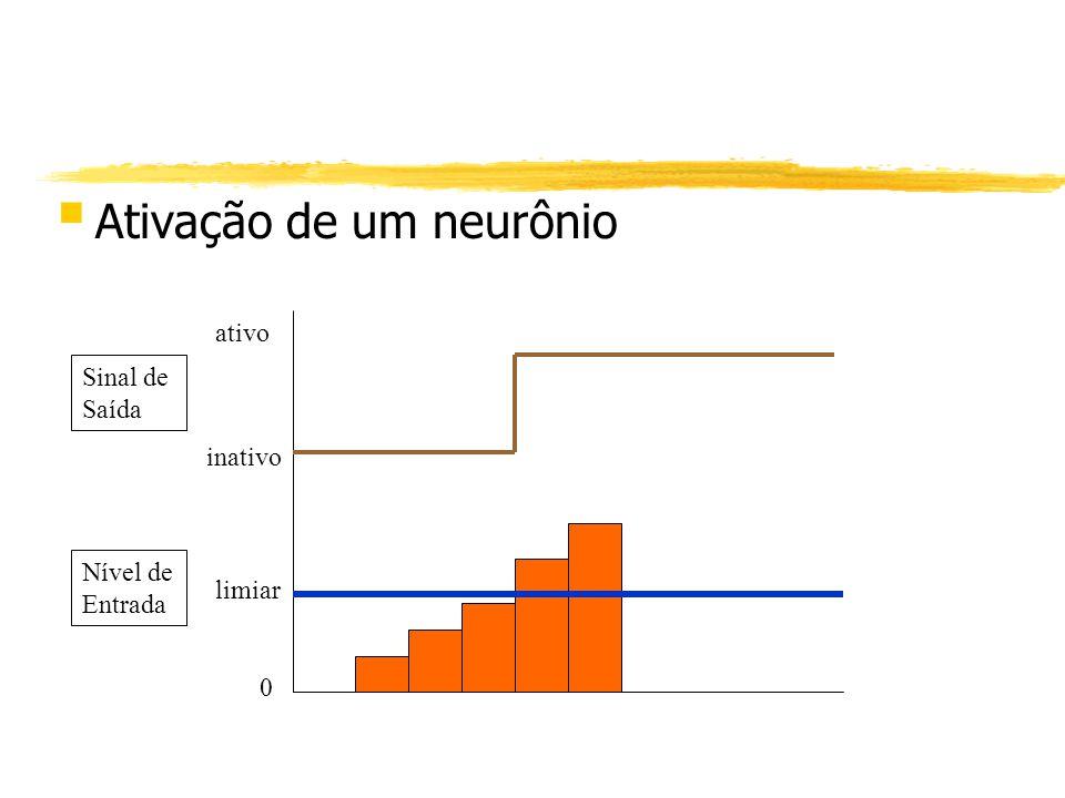 Ativação de um neurônio