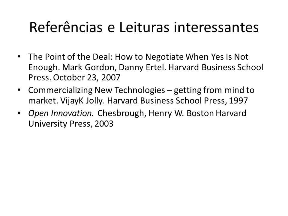 Referências e Leituras interessantes