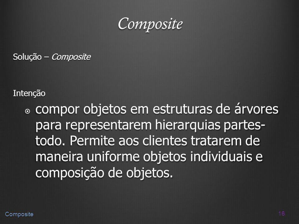 Composite Solução – Composite. Intenção.