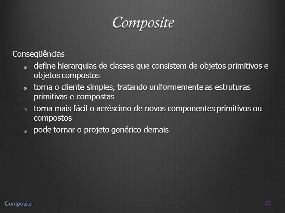 Composite Conseqüências