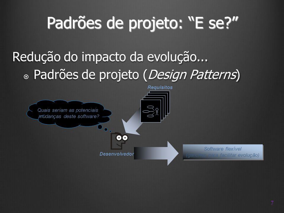 Padrões de projeto: E se