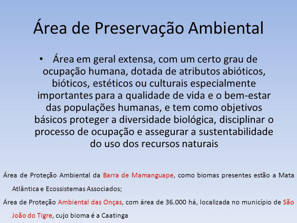Área de Preservação Ambiental