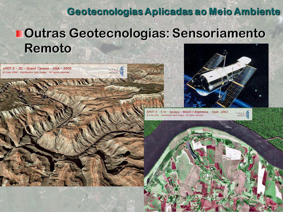 Outras Geotecnologias: Sensoriamento Remoto