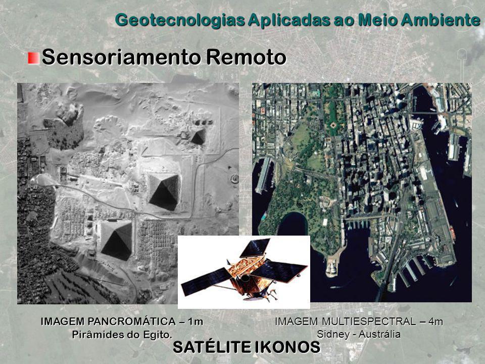 Sensoriamento Remoto Geotecnologias Aplicadas ao Meio Ambiente
