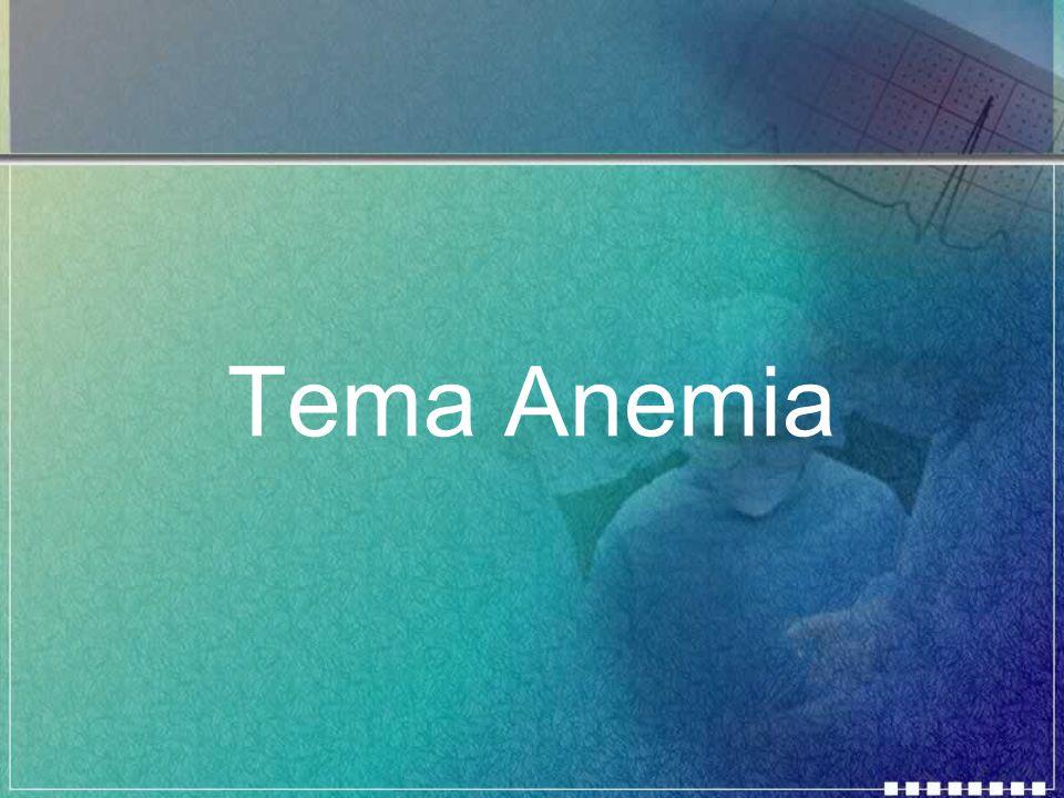 Tema Anemia