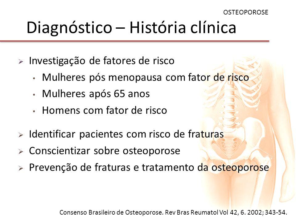 Diagnóstico – História clínica