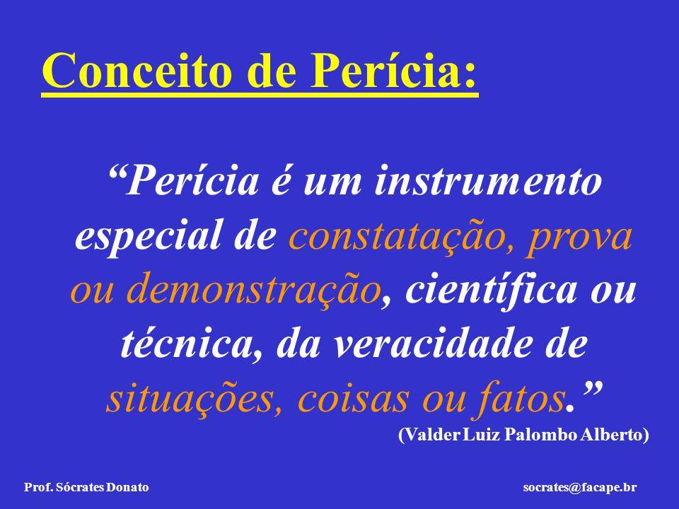 Conceito de Perícia: