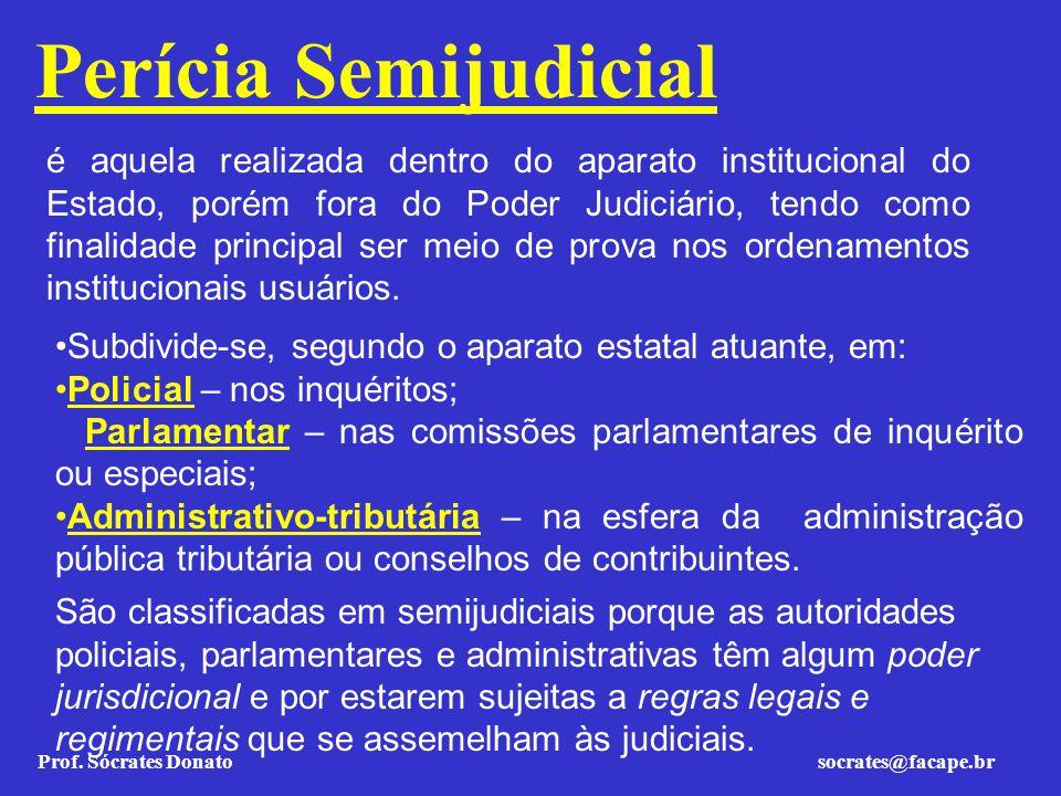 Perícia Semijudicial