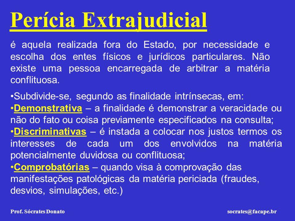 Perícia Extrajudicial