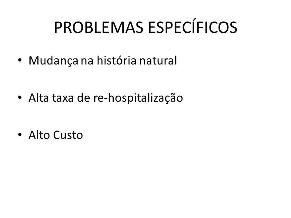 PROBLEMAS ESPECÍFICOS