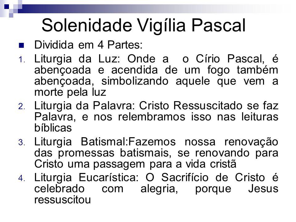 Solenidade Vigília Pascal
