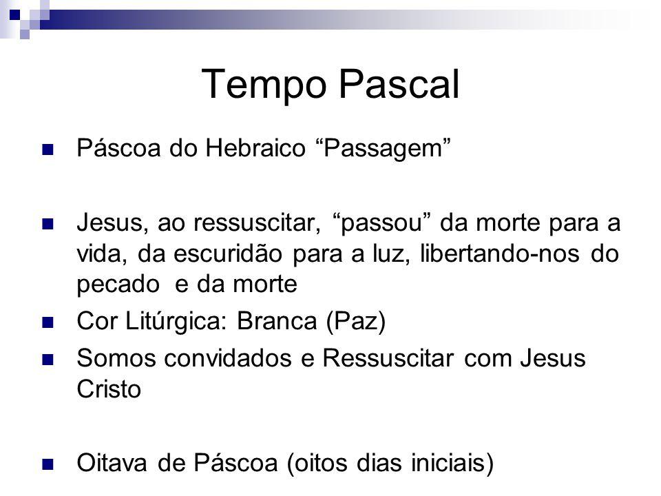 Tempo Pascal Páscoa do Hebraico Passagem