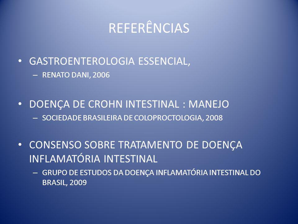 REFERÊNCIAS GASTROENTEROLOGIA ESSENCIAL,