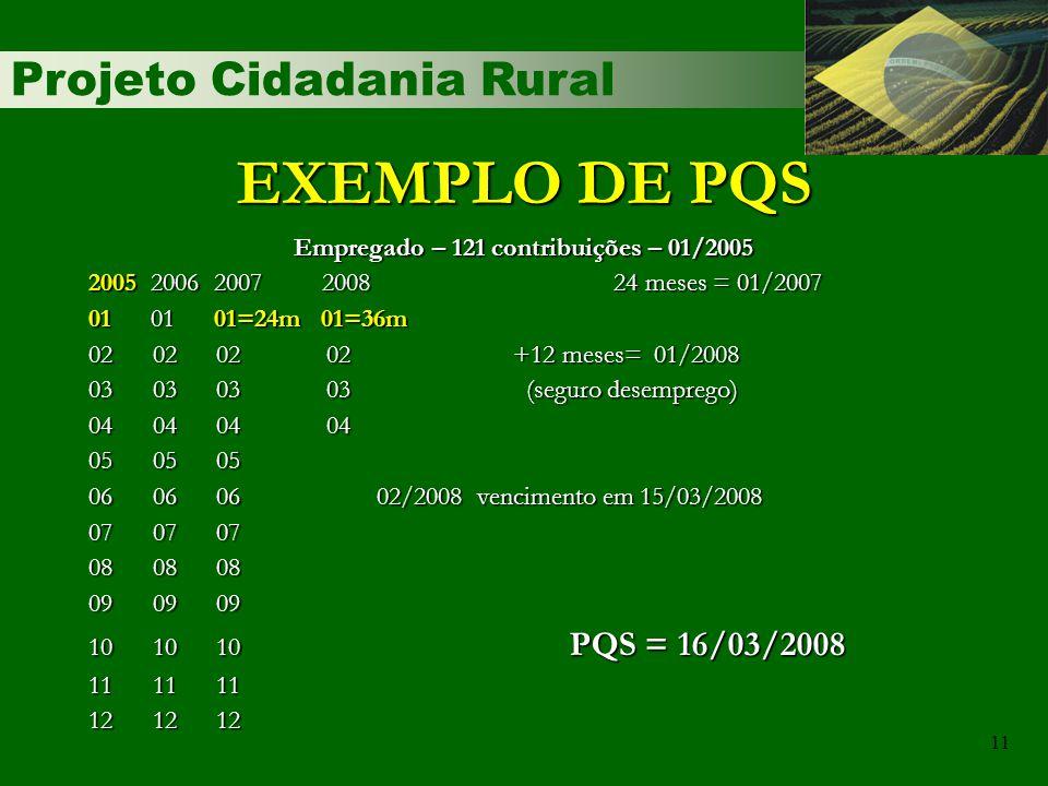 Empregado – 121 contribuições – 01/2005
