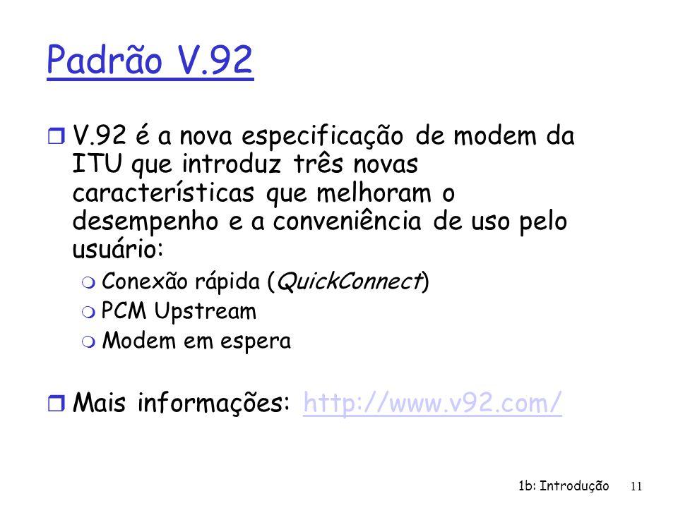 Padrão V.92