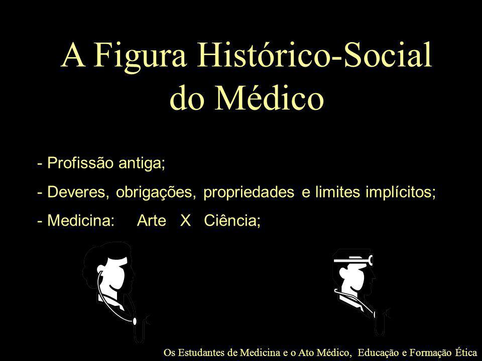 A Figura Histórico-Social do Médico