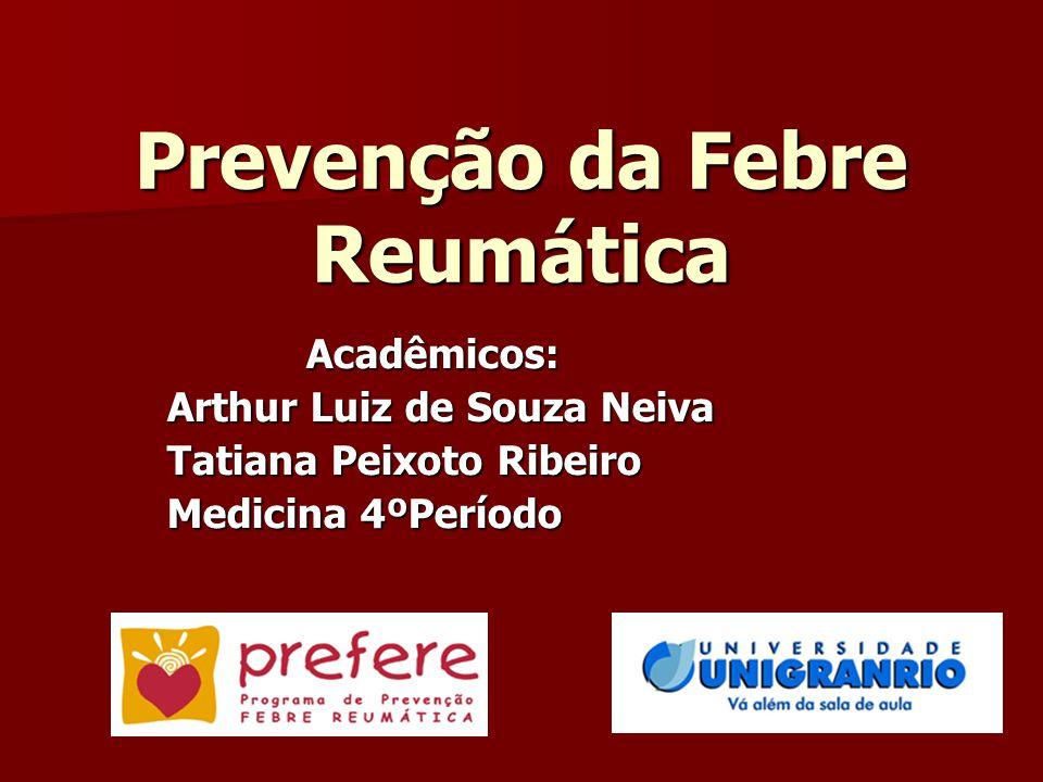 Prevenção da Febre Reumática