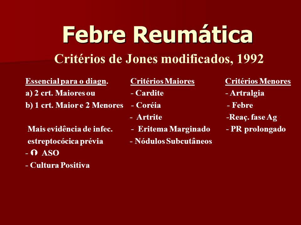 Critérios de Jones modificados, 1992