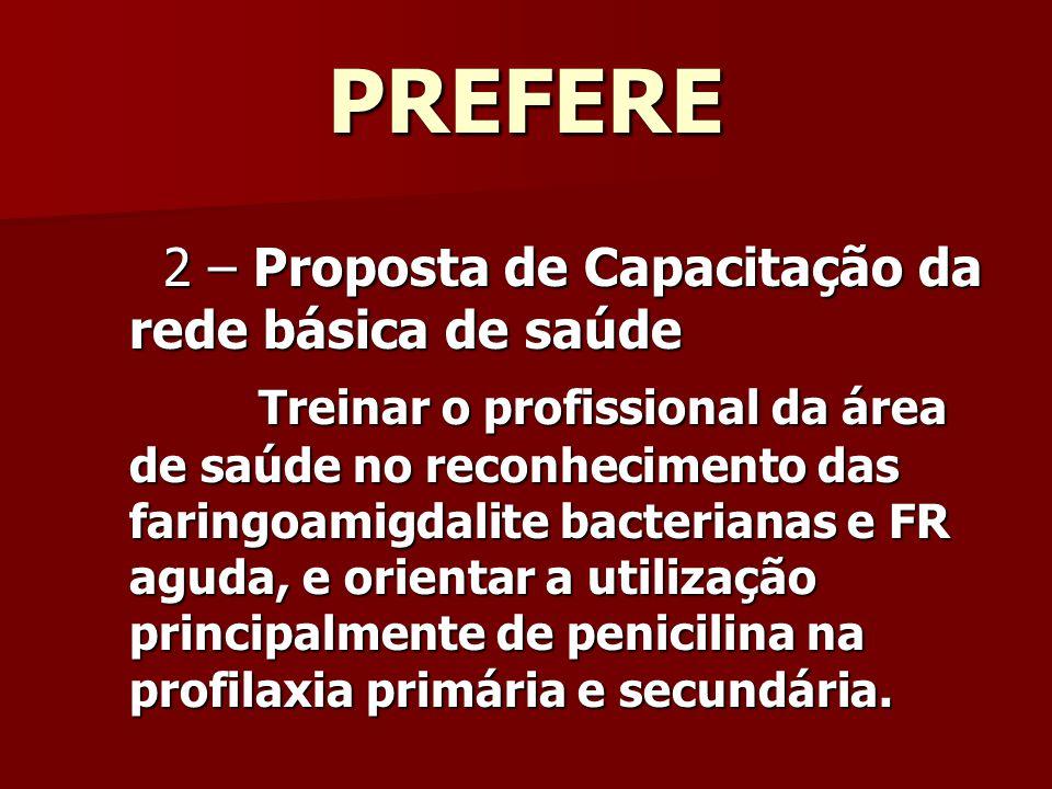PREFERE 2 – Proposta de Capacitação da rede básica de saúde.