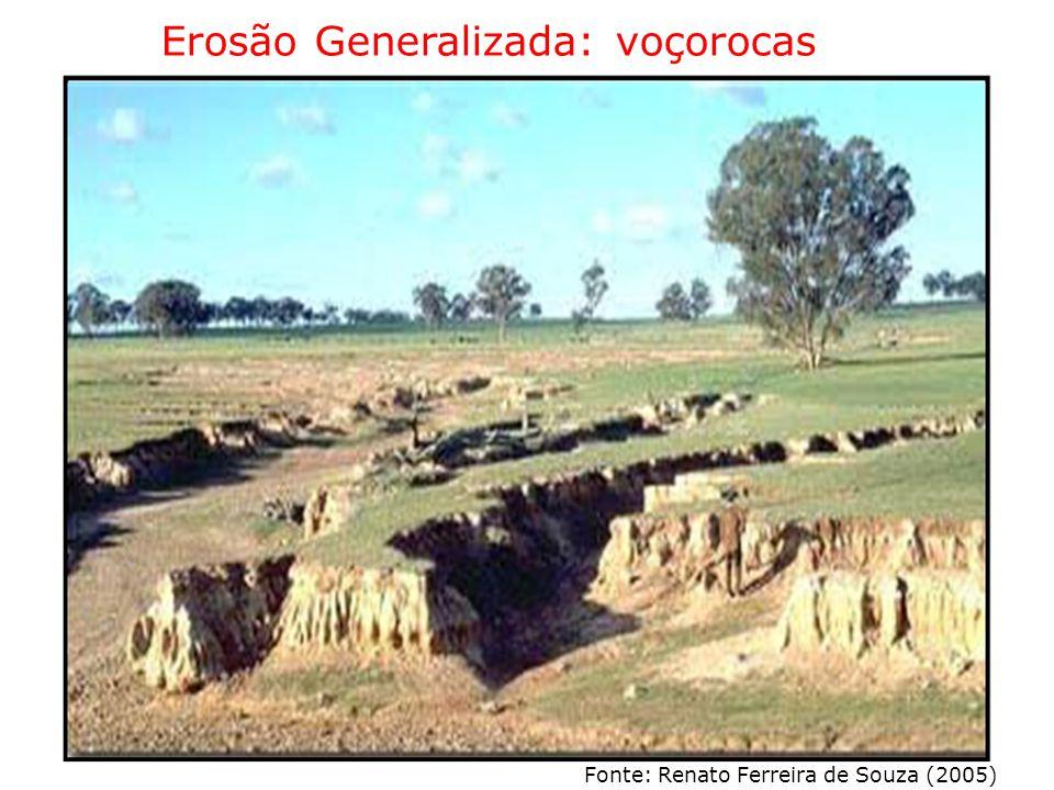 Erosão Generalizada: voçorocas