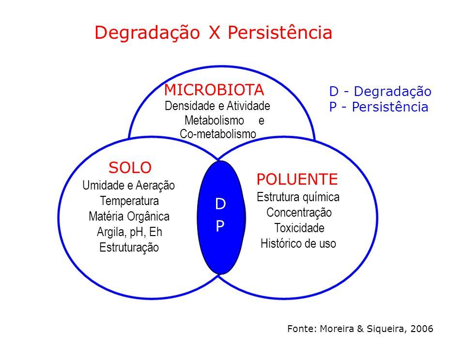 Degradação X Persistência