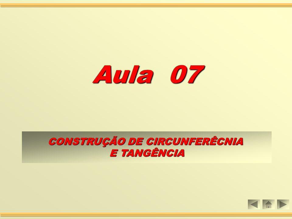 CONSTRUÇÃO DE CIRCUNFERÊCNIA