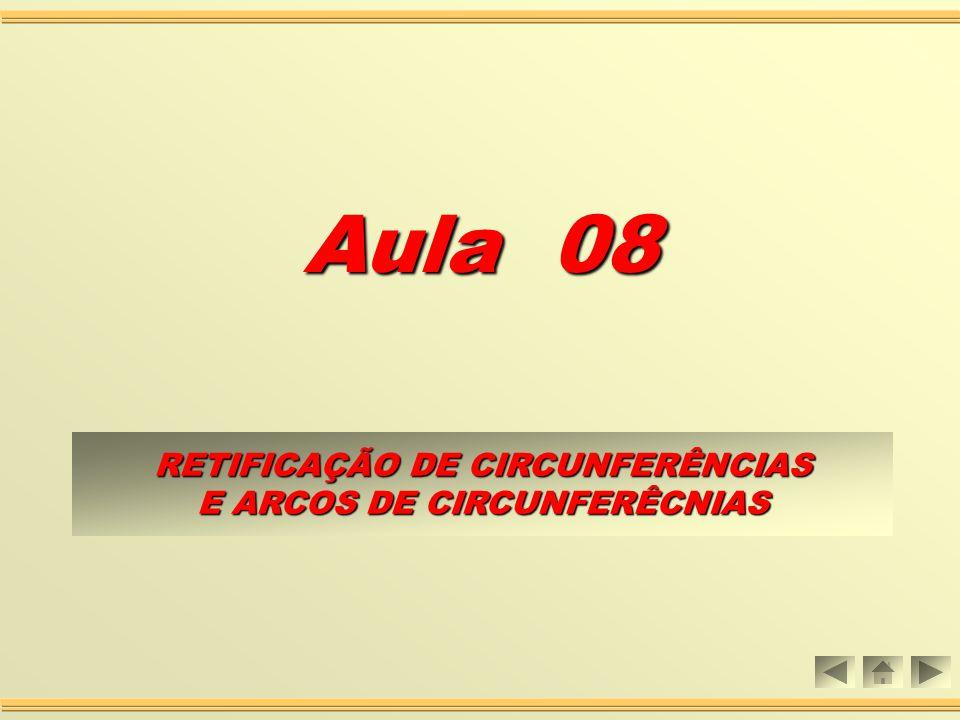 Aula 08 RETIFICAÇÃO DE CIRCUNFERÊNCIAS E ARCOS DE CIRCUNFERÊCNIAS