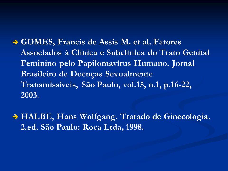 GOMES, Francis de Assis M. et al
