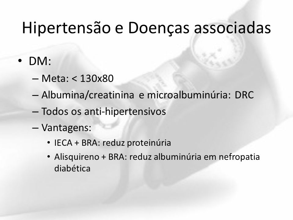 Hipertensão e Doenças associadas