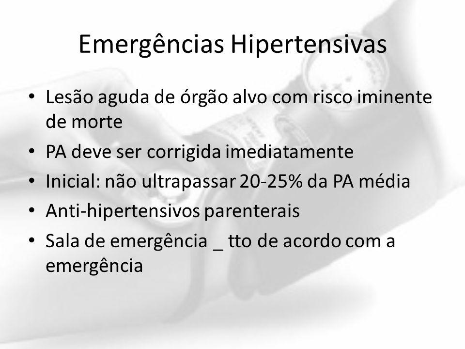 Emergências Hipertensivas
