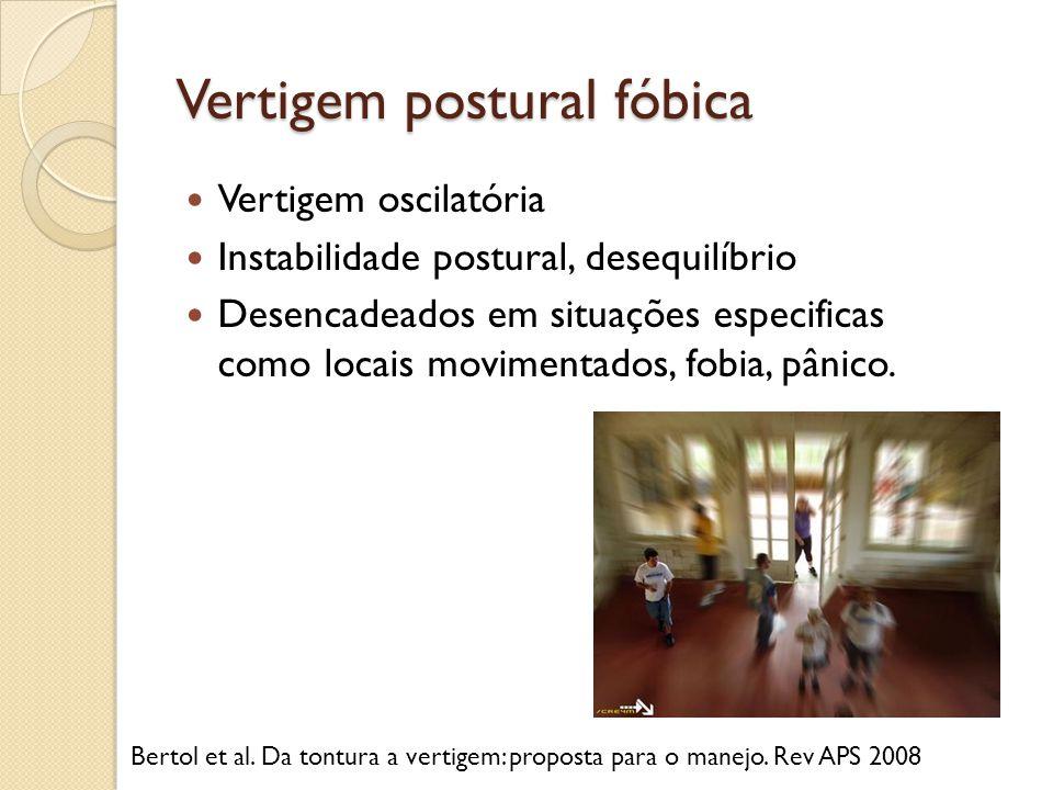 Vertigem postural fóbica