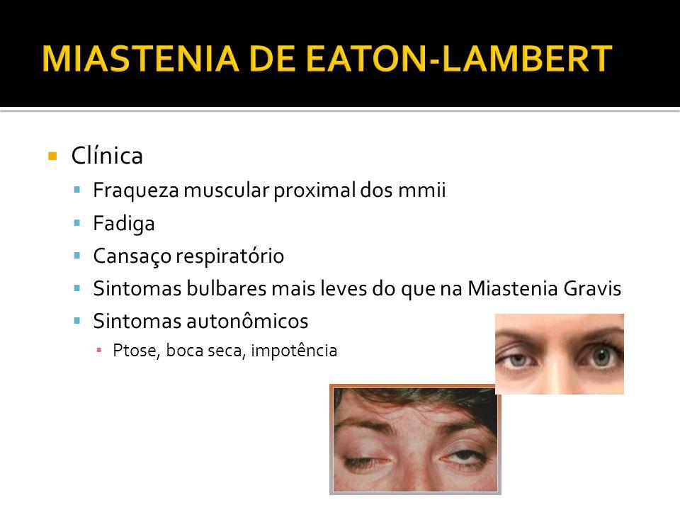 MIASTENIA DE EATON-LAMBERT