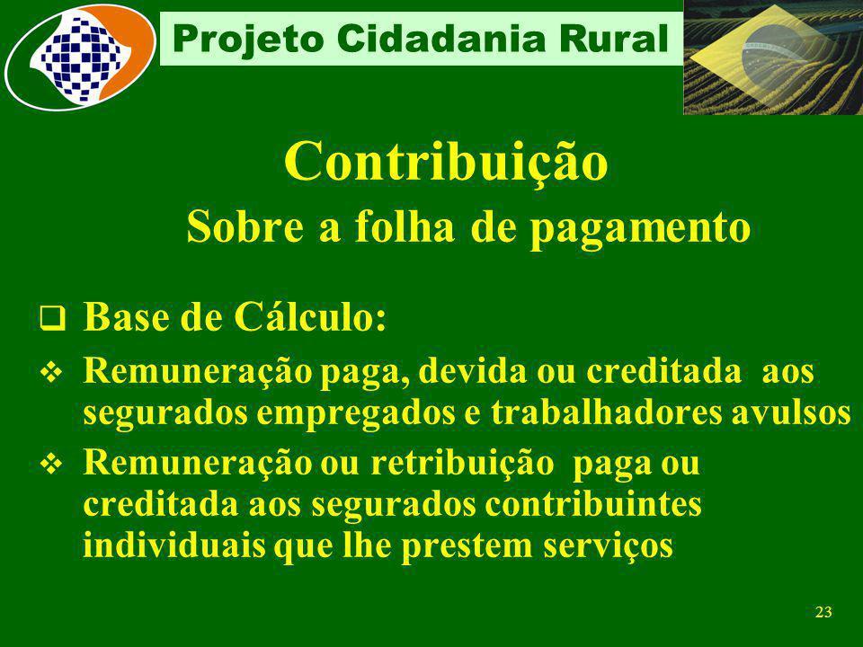 Contribuição Sobre a folha de pagamento