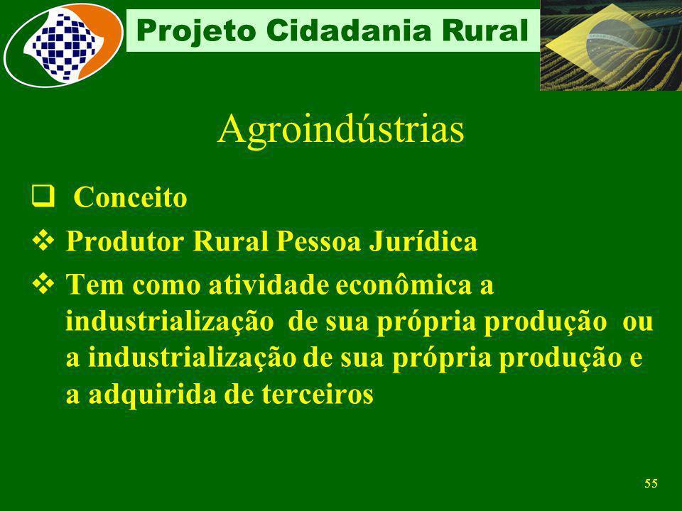 Agroindústrias Conceito Produtor Rural Pessoa Jurídica