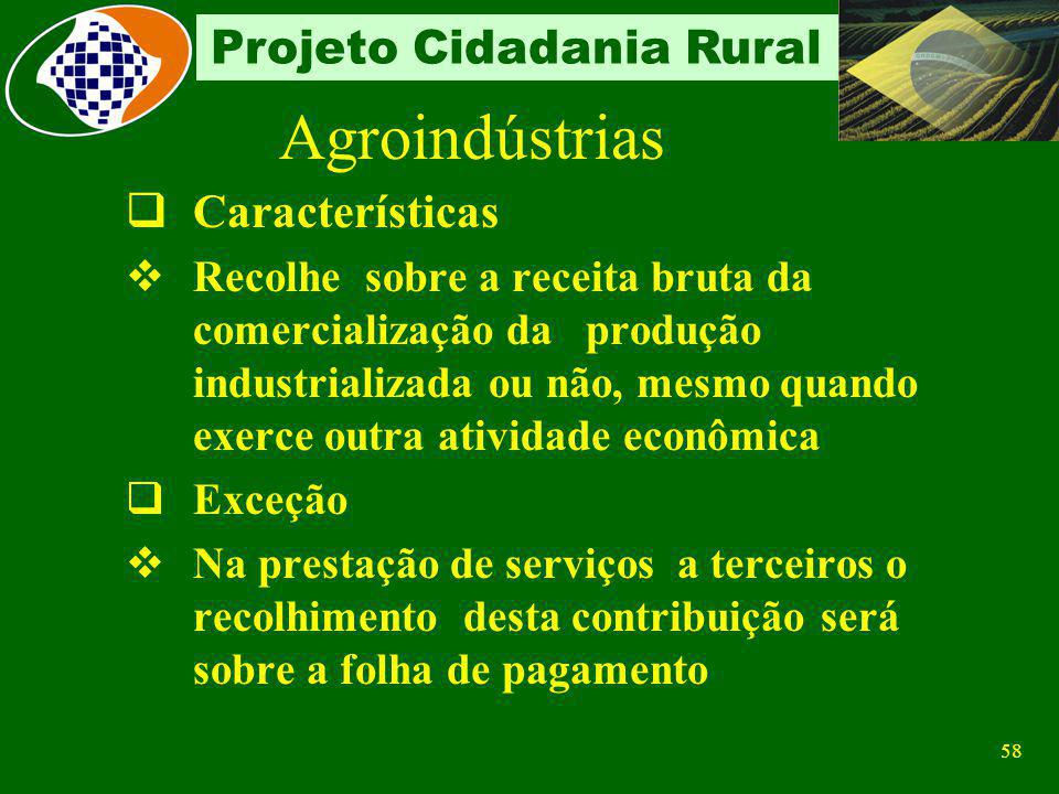 Agroindústrias Características