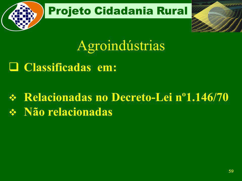 Agroindústrias Classificadas em: