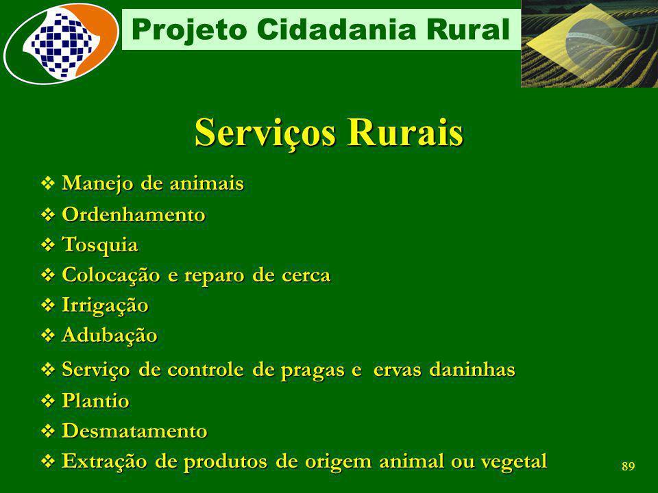 Serviços Rurais Manejo de animais Ordenhamento Tosquia