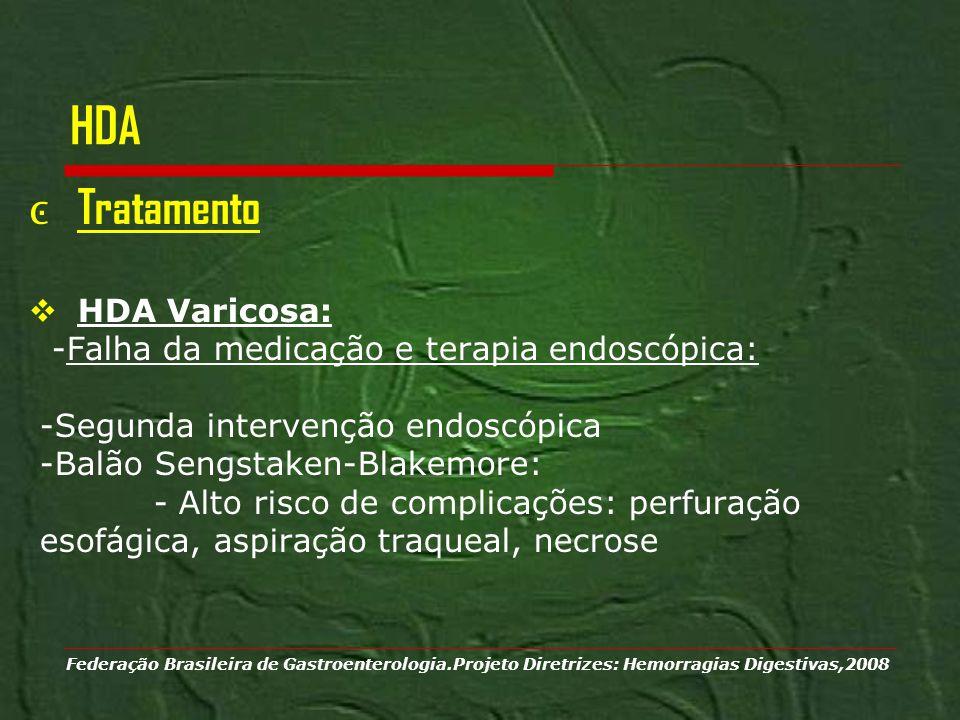HDA Tratamento HDA Varicosa: