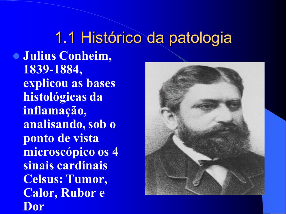 1.1 Histórico da patologia