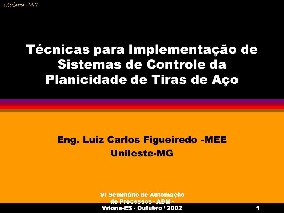 Eng. Luiz Carlos Figueiredo -MEE Unileste-MG