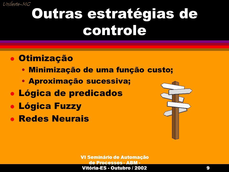 Outras estratégias de controle