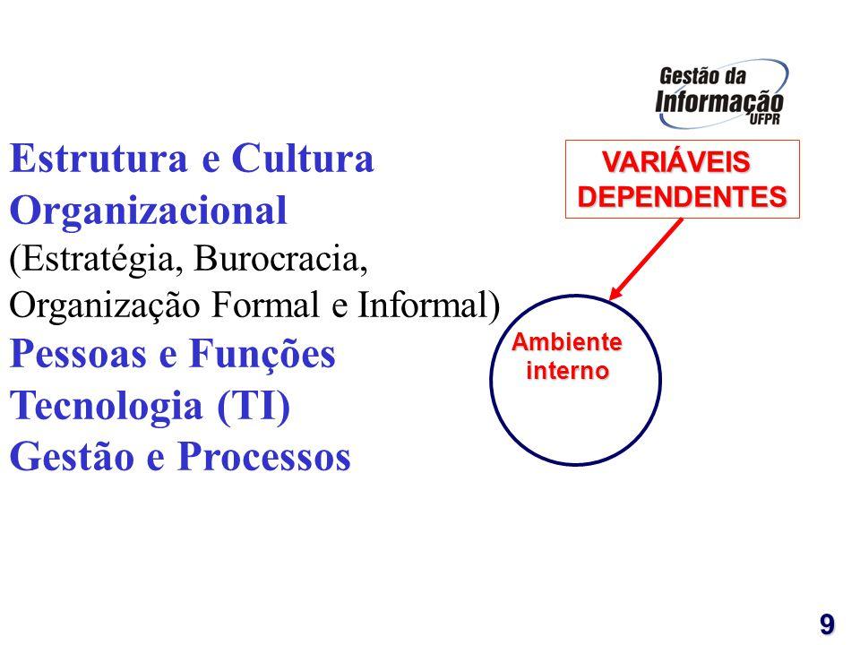 Estrutura e Cultura Organizacional